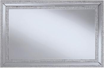 """HANIZ 47"""" x 32"""" Glam Wall Mirror"""