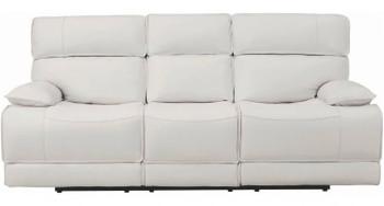 HIDDEN HILLS White Reclining Livingroom Set