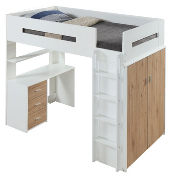 Alan White/Oak Loft Bed