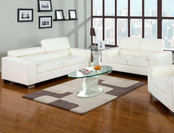 TEMRE White Livingroom Set
