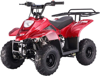 Private Red 110cc ATV- Small Size