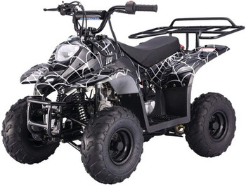 Private Spider Black 110cc ATV- Small Size