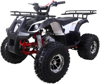 Reaper Premium White 125cc ATV-  Mid Size