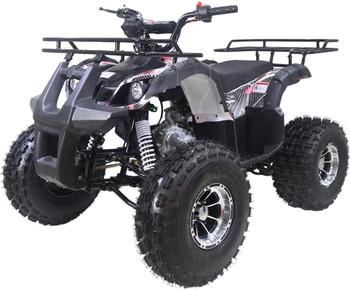 Reaper Premium Black 125cc ATV- Mid Size