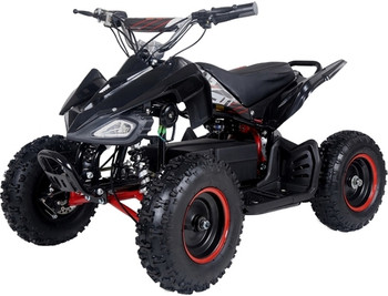 Talon Black/Red Electric ATV- Youth/Kids