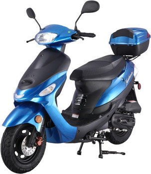 Nebula Blue 50cc Scooter