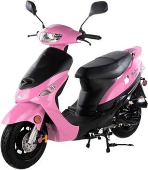Nebula Pink 50cc Scooter