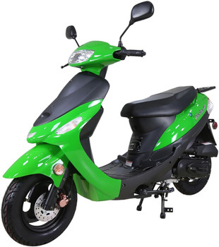 Nebula Green 50cc Scooter