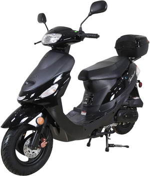 Nebula Black 50cc Scooter