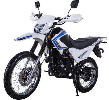 Roadrunner White 250cc Dirt Bike