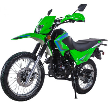 Roadrunner Green 250cc Dirt Bike