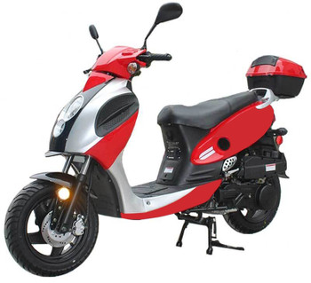 Rider Red Scooter 150cc
