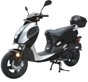 Rider Black Scooter 150cc