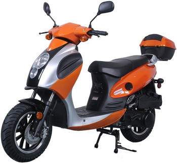Rider Orange 150cc Scooter