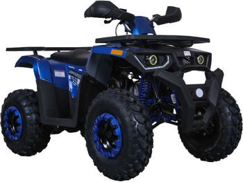 Grappler Blue 200CC ATV Adult Size