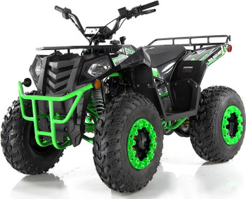 Hornet Black N Green 200CC ATV Adult Size