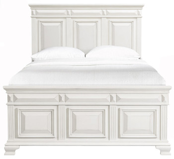 Conroe White Bed