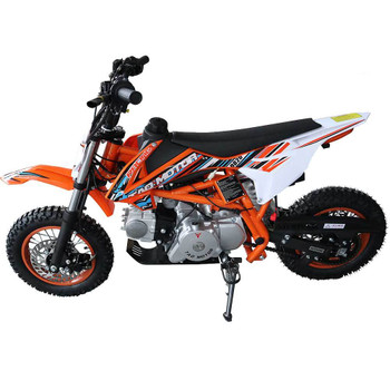 Tracker Orange 110 Mini Dirt Bike