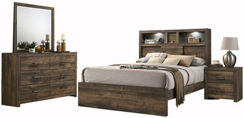 SIMON Bluetooth and Lighted 6-PC Bedroom