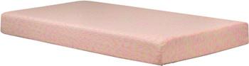 Kidpedic Pink Memory Foam Mattress with Pillow