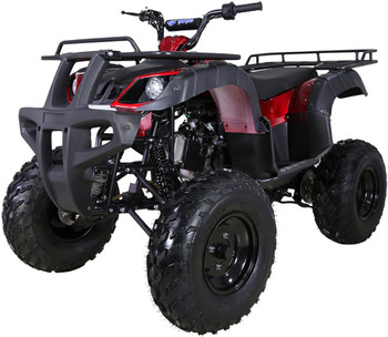 T-REX Burgundy 150cc ATV- Adult Size