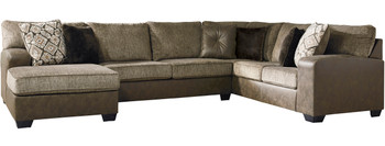 """MODESTO 145"""" Wide Oversized Sectional"""