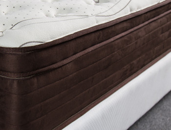 CRYSTAL+ Organic 14 Inch Hybrid Plush Mattress
