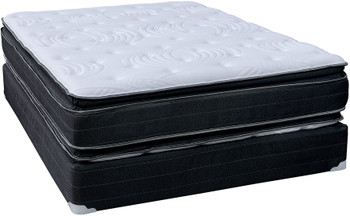 BAHAMA 15 Inch Double Sided Pillow Top Mattress