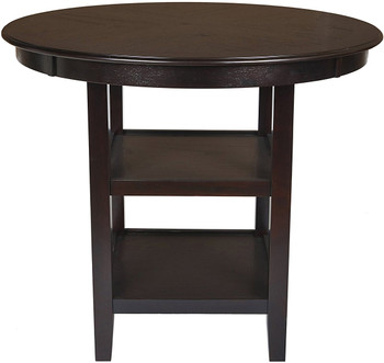 "LABONZ Espresso 42"" Wide Counter Height Table"