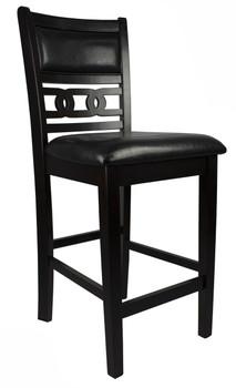 LABONZ Espresso Counter Height Chair