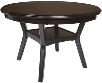 "LABONZ Espresso 48"" Wide Dining Table"