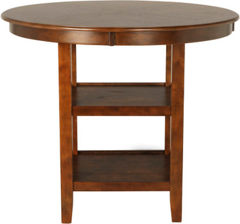"LABONZ Cinnamon 42"" Wide Counter Height Table"