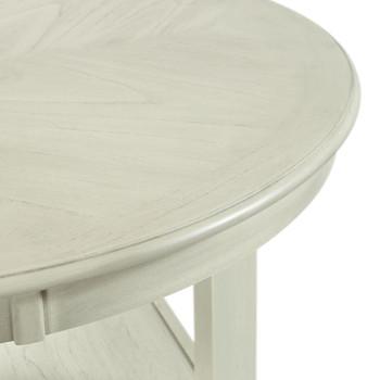 LABONZ Off-White 5 Piece Counter Height Set