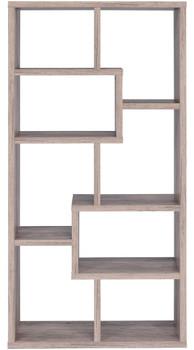 "COLM Light Gray 35"" Wide Bookcase"