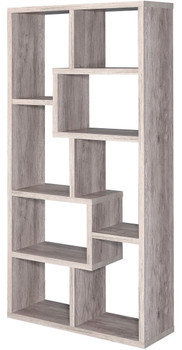"COLM Light Gray 35"" Wide Bookcase"