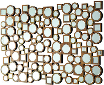 "MELINDA 48"" Wide Wall Mirror"