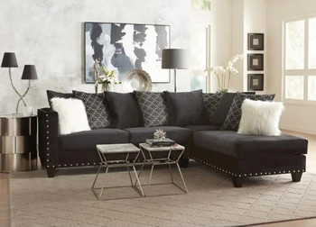 Implosion Black Sectional