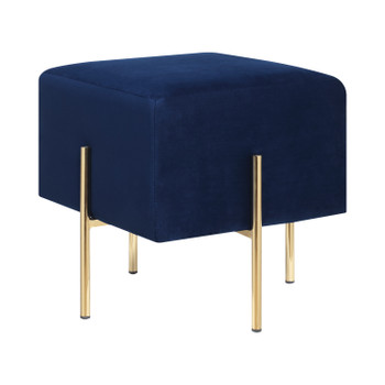 "ALLEE 16"" Wide Blue Stool"
