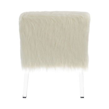 Ryley White Accent Chair