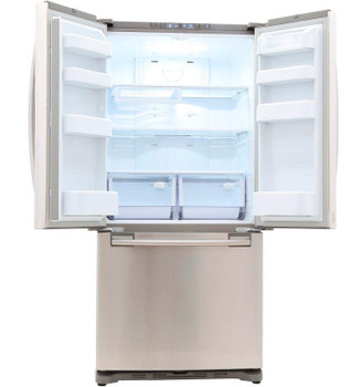 18 cu. ft. French Door Refrigerator in Stainless Steel, Counter Depth