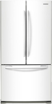 18 cu. ft. French Door Refrigerator in White, Counter Depth