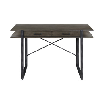 "HC 47"" Brown-Grey Desk"