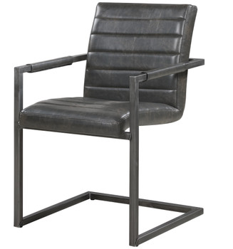 Peter Office Gray & Black Chair