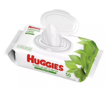 Huggies Natural Care Sensitive Baby Wipes (Unscented)
