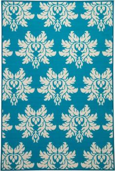 LIA Turquoise 4' x 7' Rug