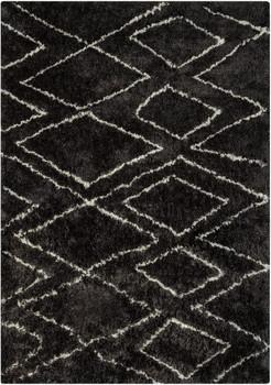 DERYN Black 8' x 10' Rug