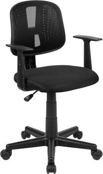 OF-1 Black Desk Chair