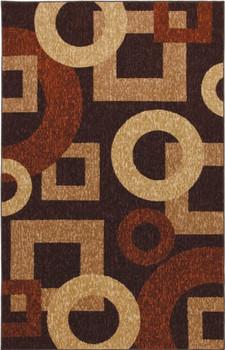 BARTON Brown 5' x 8' Rug
