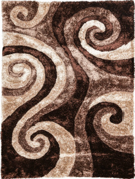 KENIA Brown 5' x 7' Rug