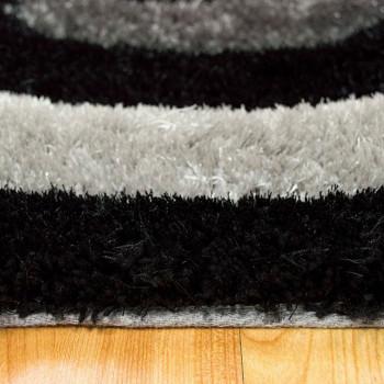 KENIA Black 5' x 7' Rug